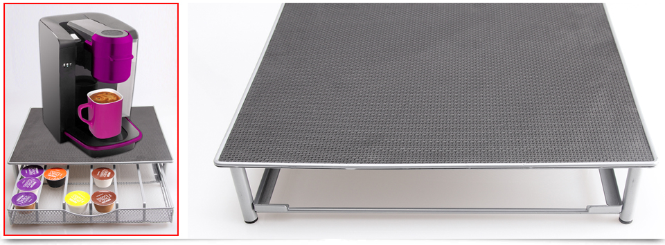 36 Coffee Pod Holder Drawer Storage Tray Amp Machine Stand