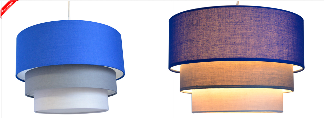 ceiling pendant light lamp shade lampshades modern easy fit shades