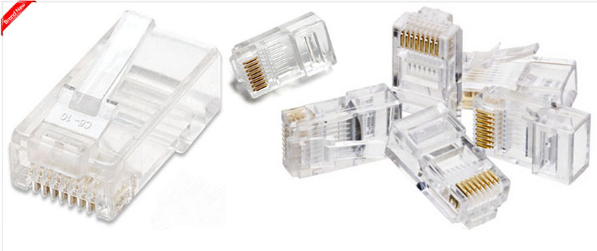 rj45 cat5e cat6 netzwerk lan ethernet kabel crimpen werkzeug 20 verbinder ebay. Black Bedroom Furniture Sets. Home Design Ideas